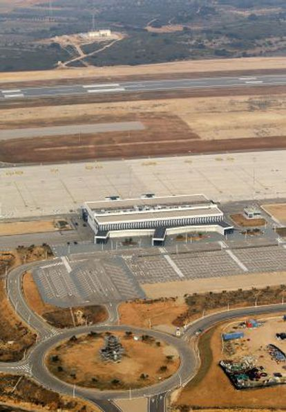 Castellón airport in Valencia province.