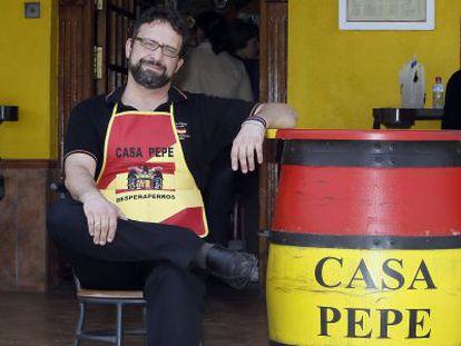 Juan José Navarro, one of the owners of Casa Pepe.