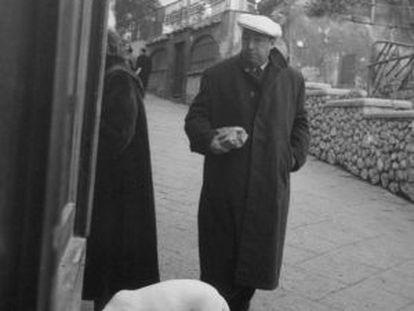 Chilean poet Pablo Neruda.