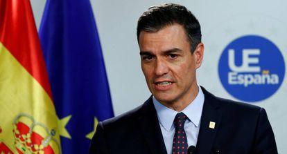 Acting PM Pedro Sánchez on July 2.
