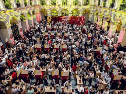 A 'Taste of Spain' underway in Bordeaux.