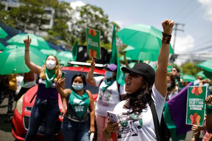 International Day of Action for Women's Health in San Salvador on May 28.