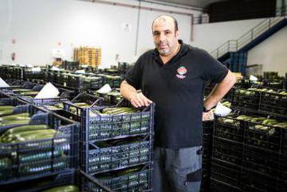 Jesús Sánchez, warehouse worker
