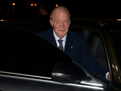 Spain's former king Juan Carlos, pictured in Madrid in February 2020.