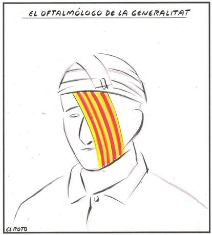 """""""The eye doctor of the Catalan regional government."""""""