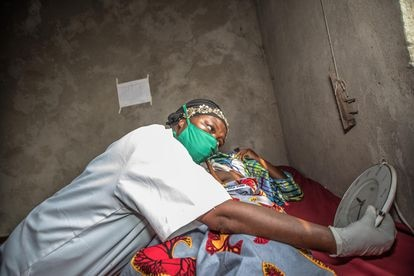 """Due to their experience with Ebola, Pauline, 58, and her colleague were able to adapt more quickly to the challenges posed by Covid-19 in the Democratic Republic of the Congo. """"The management of patients remains difficult,"""" she says. """"We are also facing shortages of PPE and medications."""""""