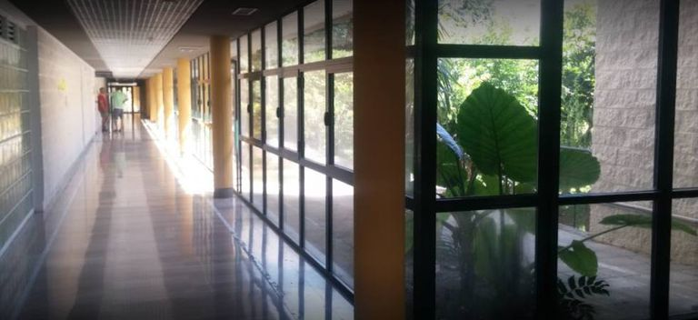 The General Hospital in La Palma.