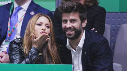 Shakira y Gerard Piqué en una foto de archivo de 2019.