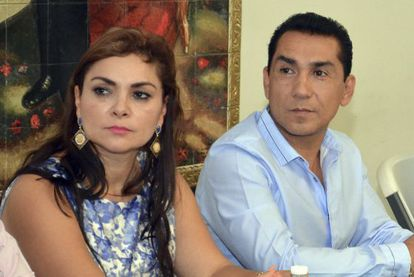 José Luis Abarca and his wife María de los Ángeles Pineda went missing following the events of September 26.