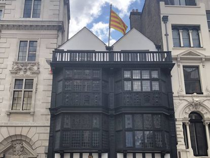 The House of Catalonia in London.
