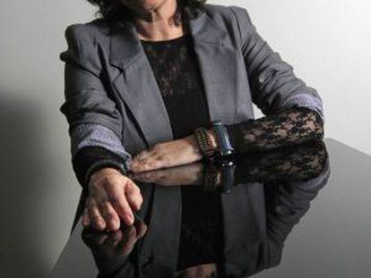 The winner of the 2013 Planeta Prize, Clara Sánchez.