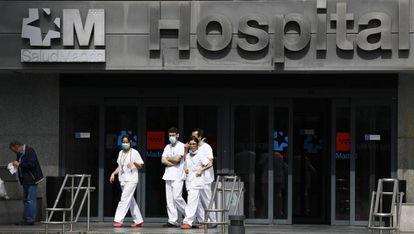 La Paz hospital in Madrid.