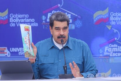 Venezuelan President Nicolás Maduro on March 25.
