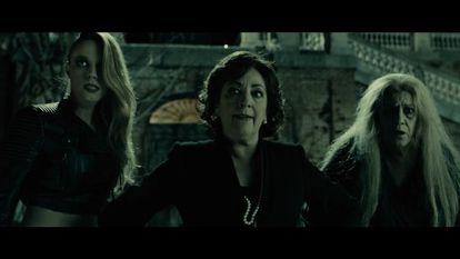 Carmen Maura (center) stars in Alex de la Iglesia's 'Las brujas de Zugarramurdi'