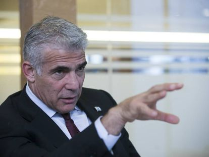 Yair Lapid, chairman of Israel's Yesh Atid Party.