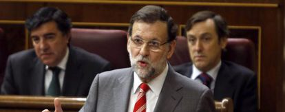 Prime Minister Mariano Rajoy addresses Congress on Wednesday.