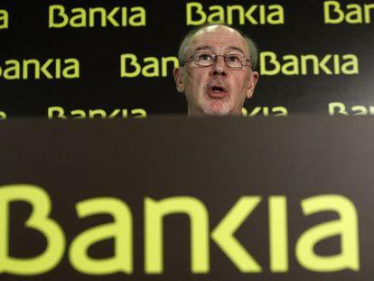 Bankia Chairman Rodrigo Rato.