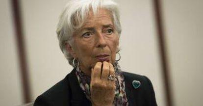 Christine Lagarde, head of the IMF.