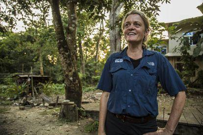 Veterinarian Deborah McCauley, founder of VIEW.
