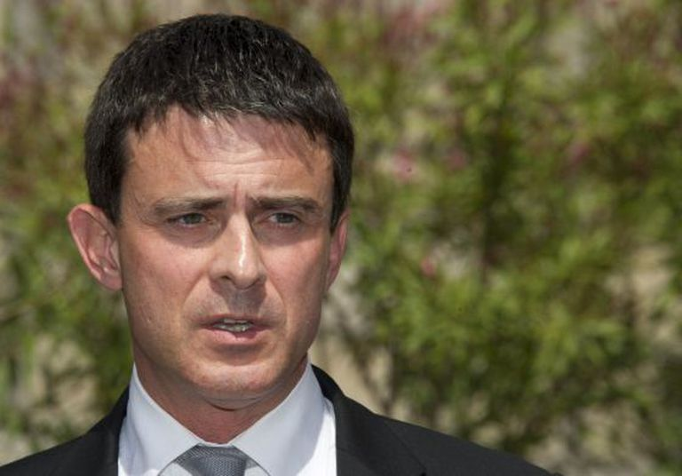 Newly appointed French Interior Minister Manuel Valls.