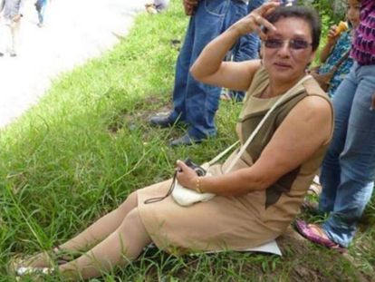 Lesbia Yaneth Urquía, an activist who worked with Berta Cáceres.