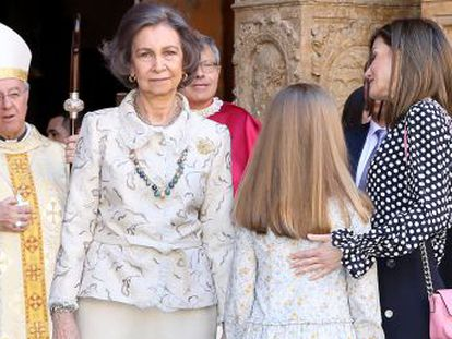 As a video of Letizia and Sofía physically tussling after an Easter Mass has revealed, tensions are high in the Spanish royal family