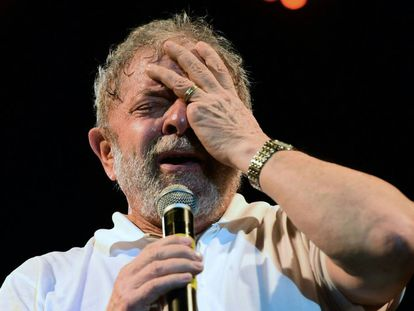 Luiz Inácio Lula Da Silva at a recent event.
