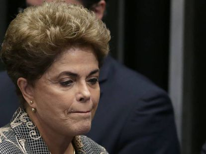 Dilma Rousseff asks senators to vote against her impeachment.
