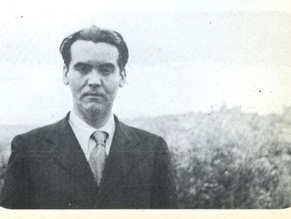 Federico García Lorca, photographed in the 1930s by French writer Marcelle Auclair.