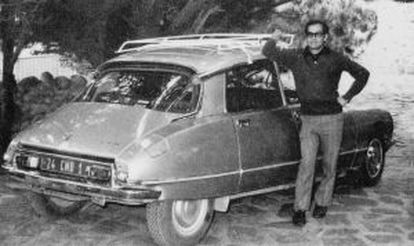 Manuel Araya, during the time he was Pablo Neruda's driver.