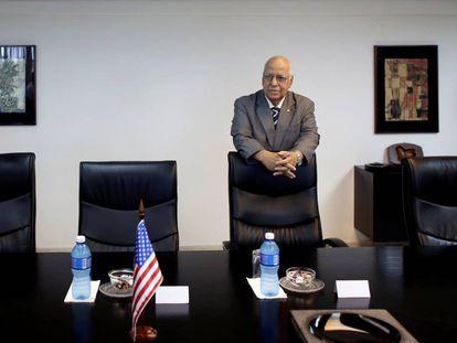 Ricardo Cabrisas, Cuba's new Minister of Economy.