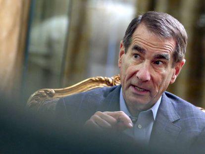 Alan Solomont, former US ambassador to Spain, pictured in Madrid.