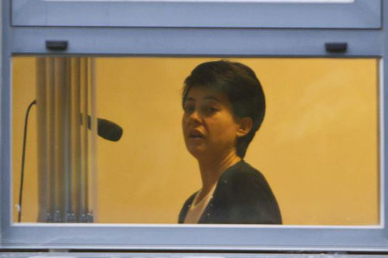 Rosario Porto during her testimony before an investigating judge.