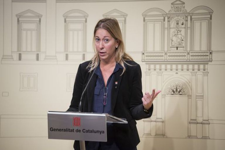 Deputy premier of the Catalan government, Neus Munté.